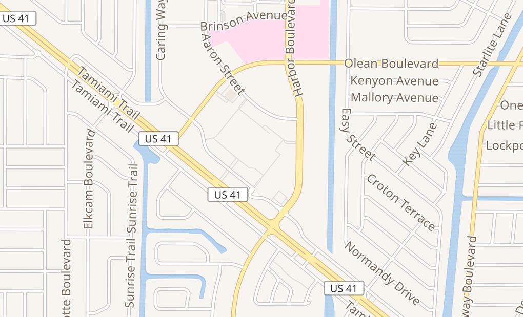 map of 3280 Tamiami Trl Ste 36Port Charlotte, FL 33952