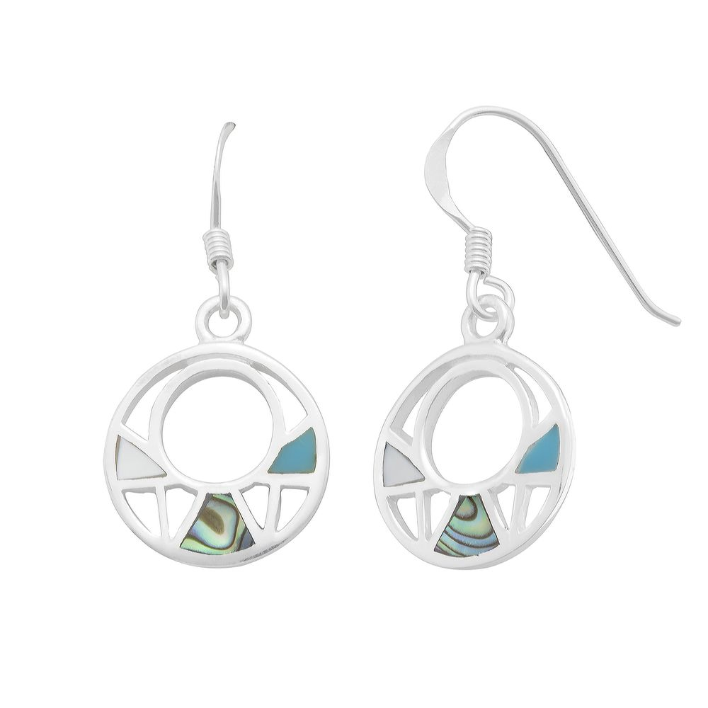 hulbert drop single earrings circle product circular estyn elements