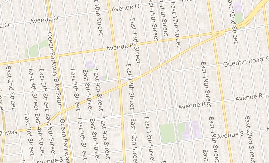 map of 1208 Kings HwyBrooklyn, NY 11229
