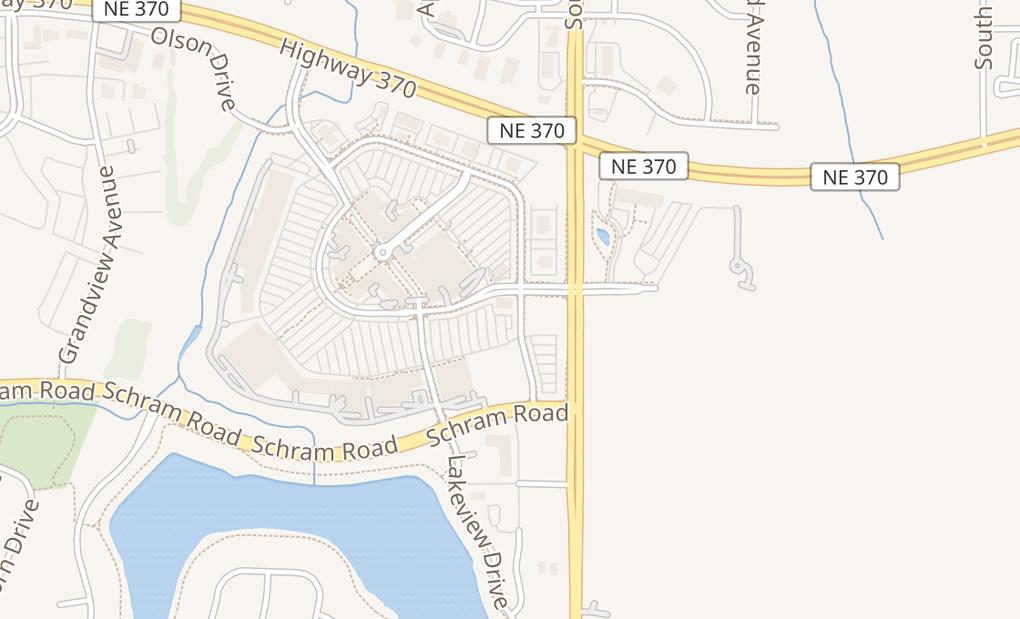 map of 7305 Towne Ctr Pkwy Ste 101Papillion, NE 68046