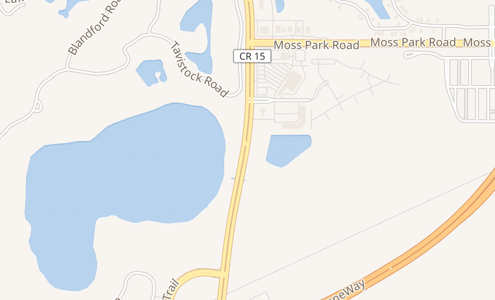 map of 10783 Narcoossee Rd Ste 113Orlando, FL 32832