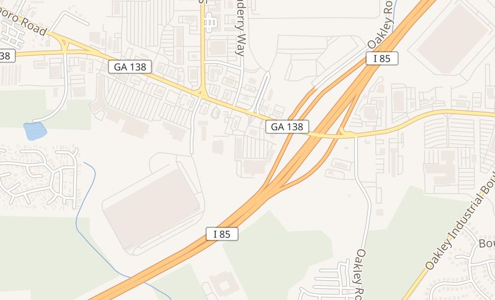 map of 4550 Jonesboro Rd Ste 200Union City, GA 30291