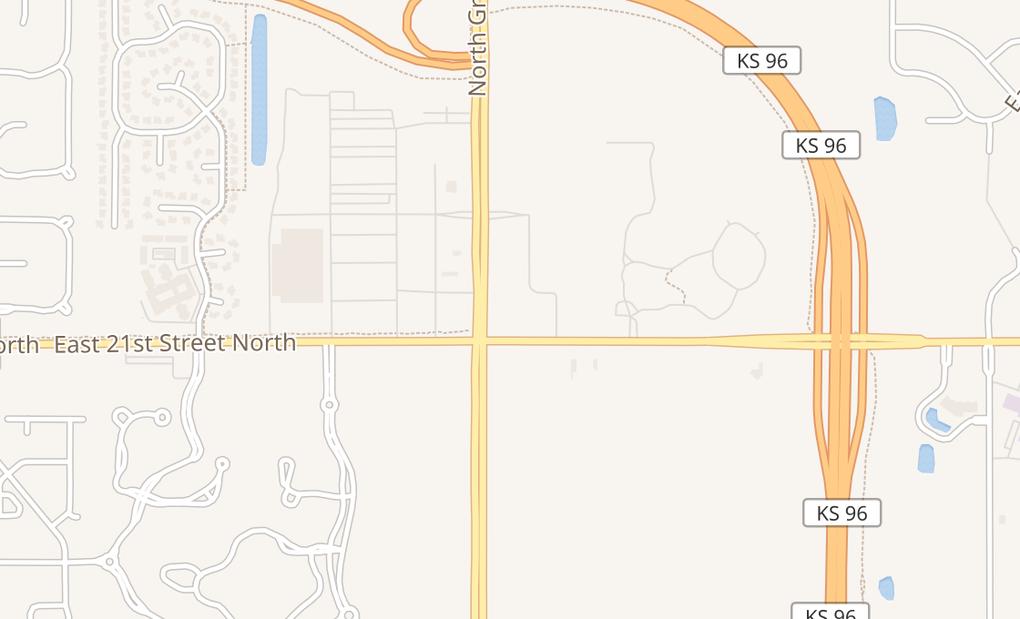 map of 2222 N Greenwich Rd Ste 500Wichita, KS 67226