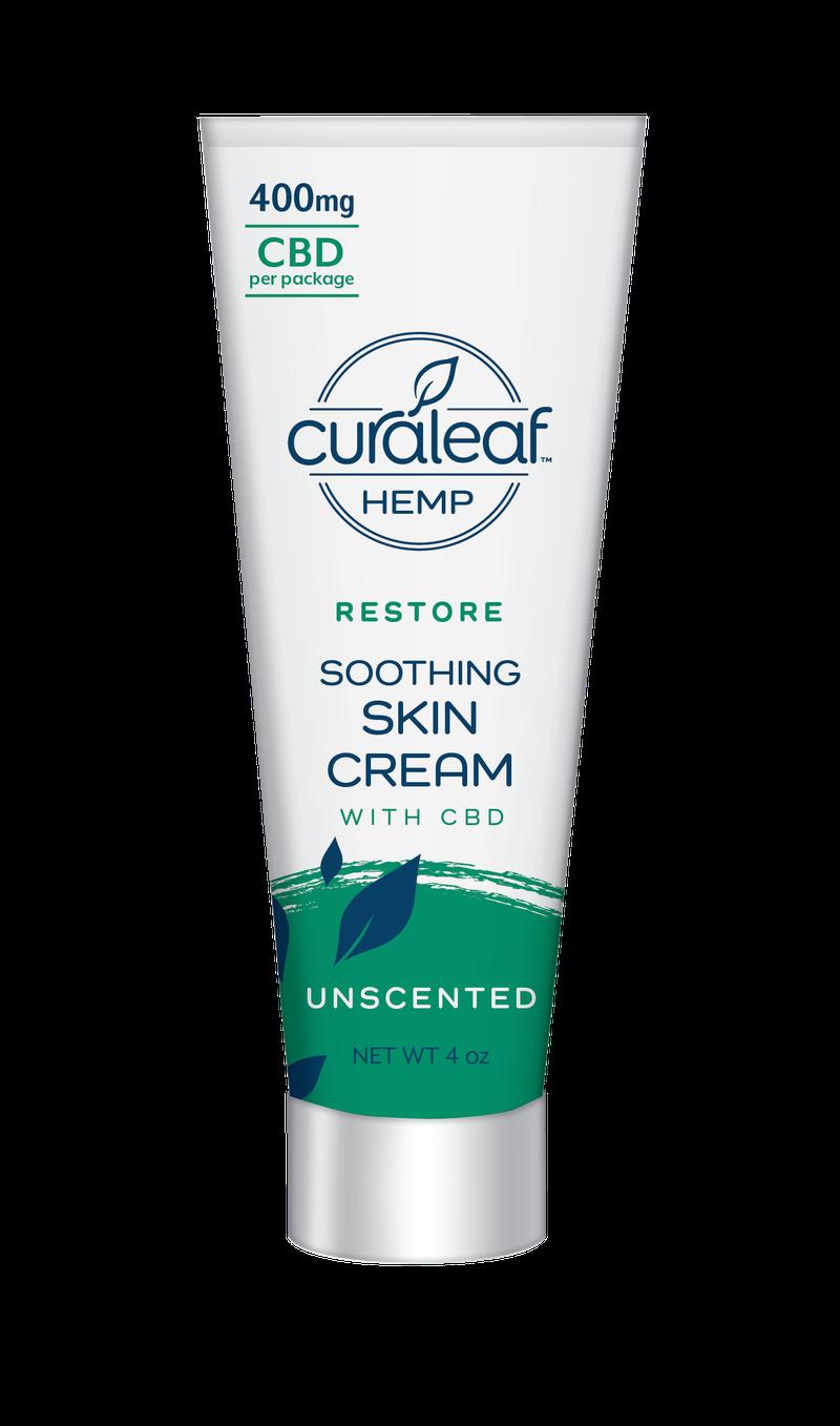 Hemp CBD Soothing Cream - Unscented - Curaleaf