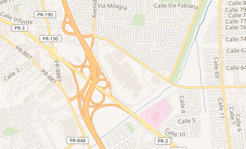 map of 200 Ave Fragoso Ste K102ACarolina, PR 00983