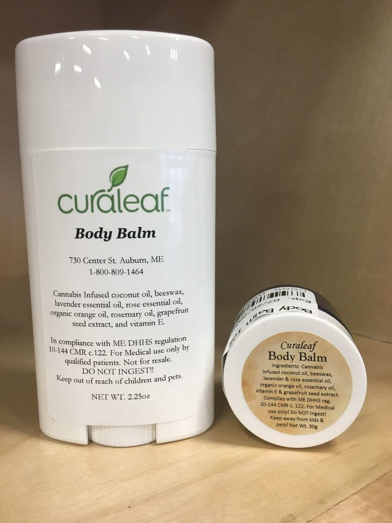 Body Balm Unscented 1oz - None
