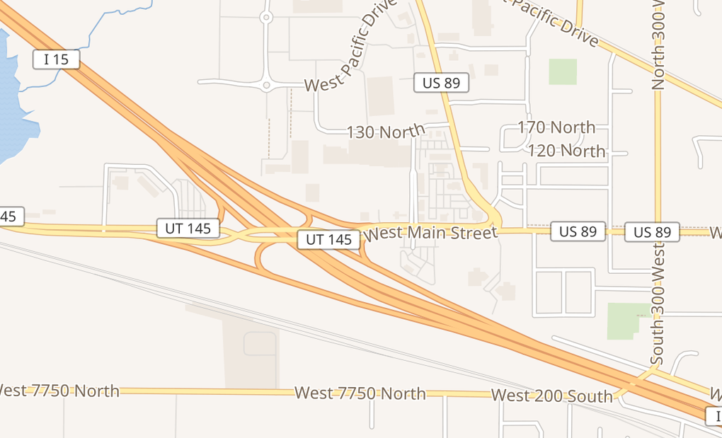 map of 632 W Main St Ste 106American Fork, UT 84003