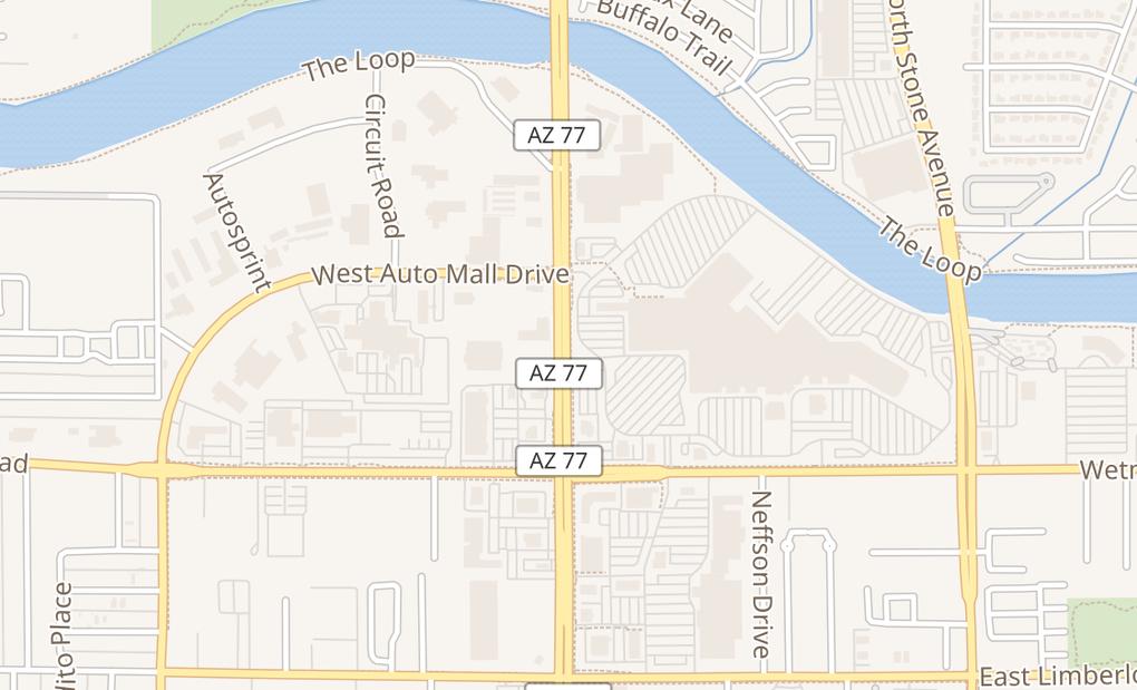 map of 4500 N Oracle Rd Ste 305Tucson, AZ 85705
