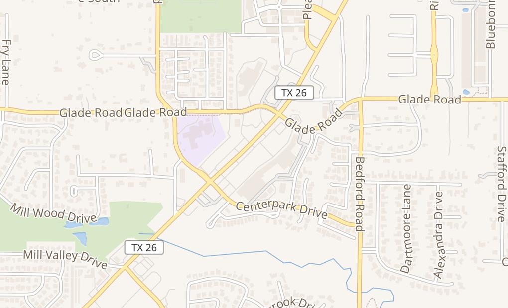 map of 4717 Colleyville Blvd Ste 200Colleyville, TX 76034