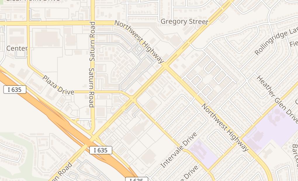 map of 930 W Centerville Rd Ste AGarland, TX 75041