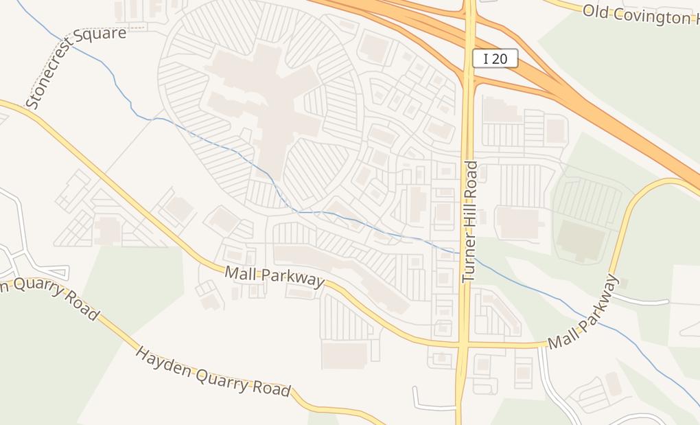 map of 7301 Stonecrest ConcourseLithonia, GA 30038