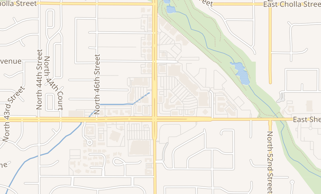 map of 10633 N Tatum Blvd Ste 104Phoenix, AZ 85028