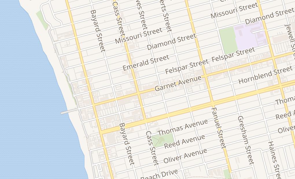 map of 1096 Garnet Ave Spc ESan Diego, CA 92109