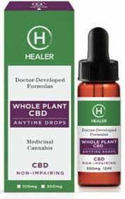 Healer-Whole Plant CBD 100mg at Curaleaf Airpark