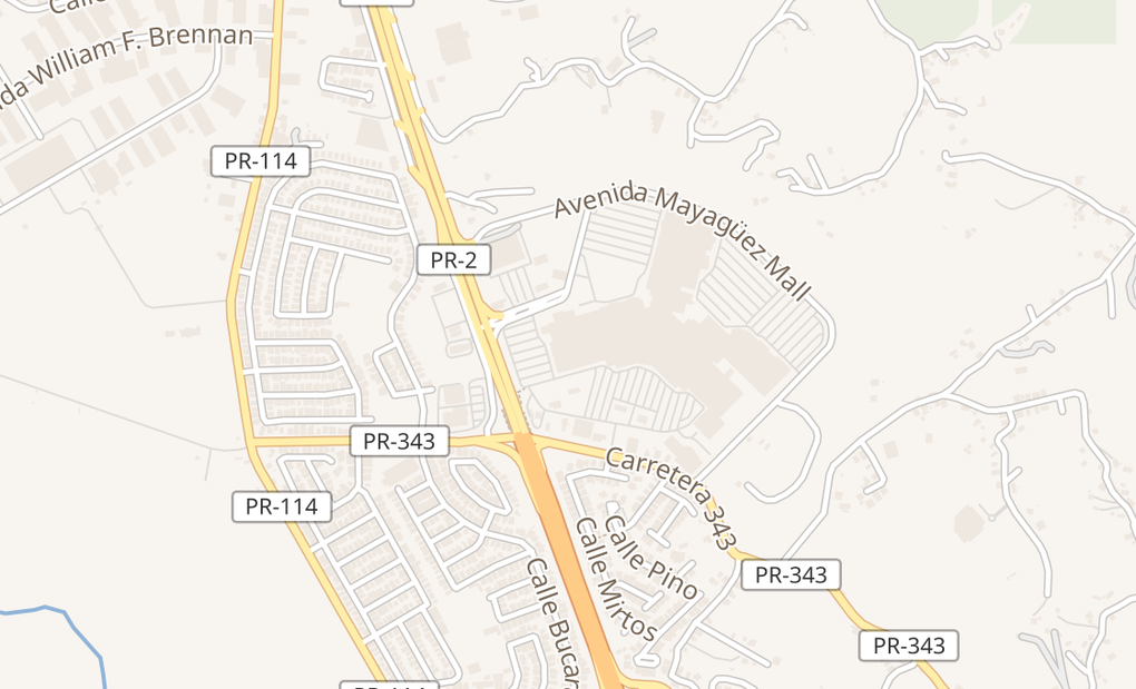 map of 975 Ave Hostos Ste 2100Mayaguez, PR 00680
