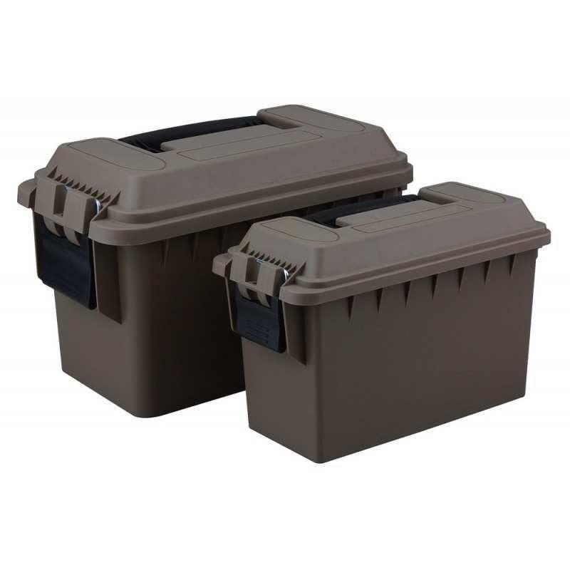 2-Pack Ammo Box FDE  30 Cal/ 50 Cal (ABP2PK-FDE)