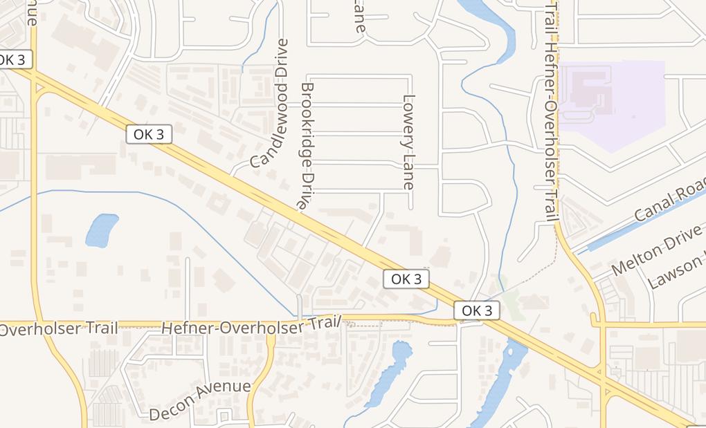 map of 6401 Nw Expressway Ste 110Oklahoma City, OK 73132