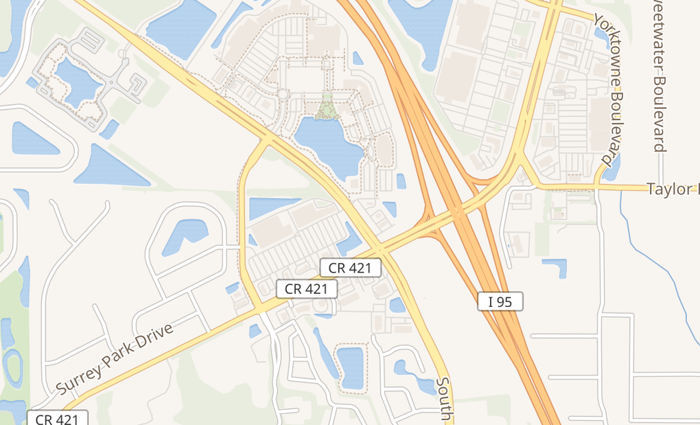map of 5535 S Williamson Blvd Ste 648Port Orange, FL 32128