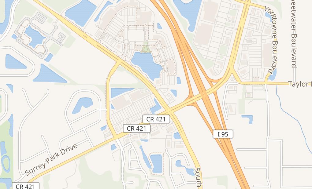 map of 5535 S Williamson Blvd Ste 648Port Orange, FL 32128