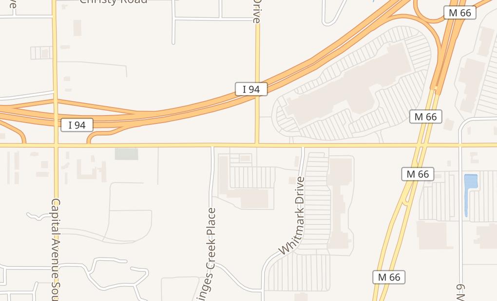 map of 5475 Beckley Rd Ste 120Battle Creek, MI 49015