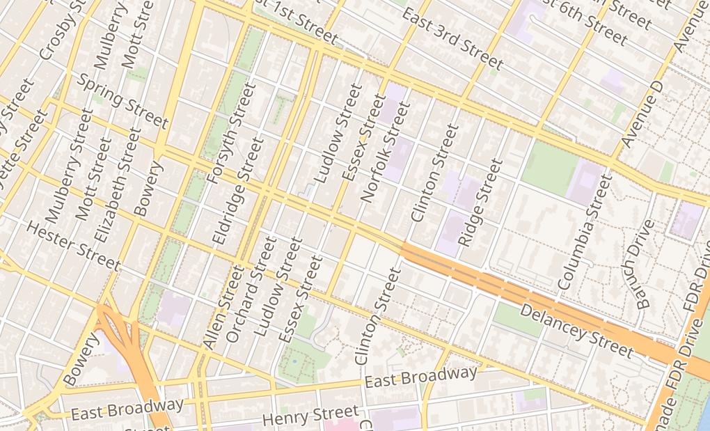 map of 130 Delancey StNew York, NY 10002