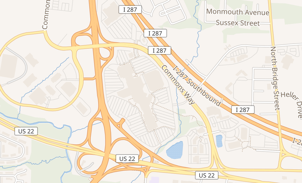 map of 400 Commons Way Ste 2480Bridgewater, NJ 08807