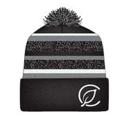 Beanie - Dark Heather/Gray Beanie with C-logo at Curaleaf AZ Midtown
