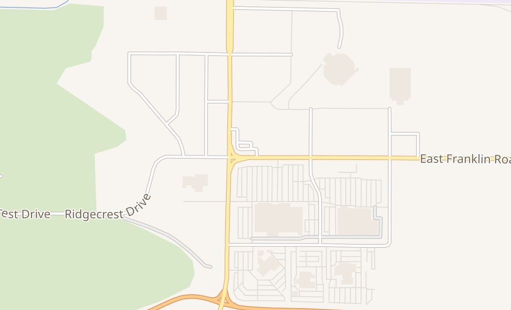 map of 5838 E Franklin RdNampa, ID 83687