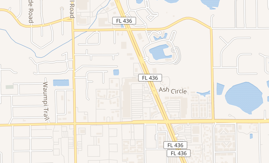 map of 1455 E Semoran Blvd #117Casselberry, FL 32730