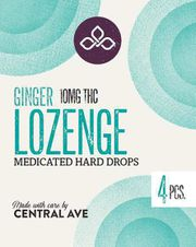 Ginger Lozenge 40mg THC at Curaleaf MA Oxford | Medical Use