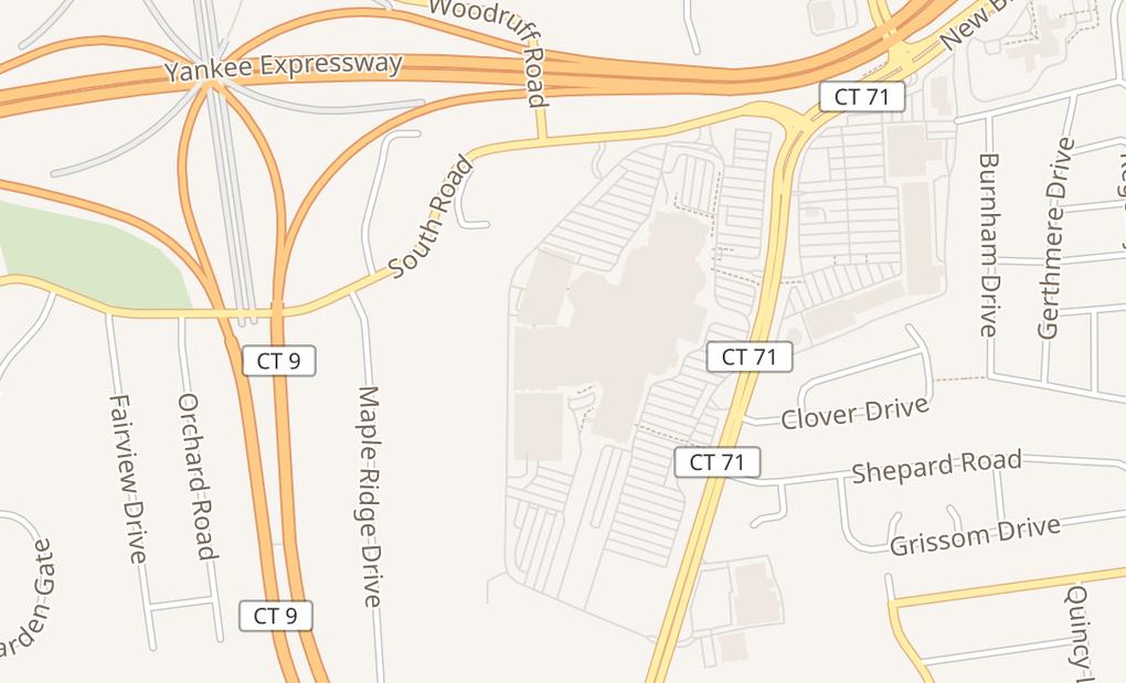 map of 435 Westfarms MallFarmington, CT 06032