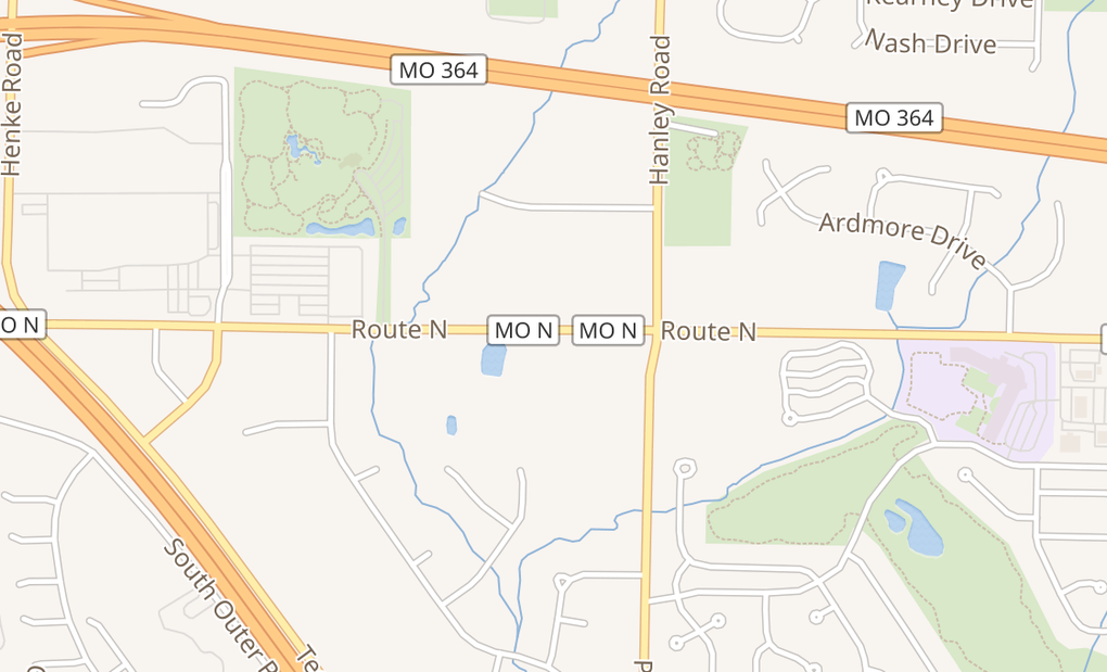 map of 7857 Town Square AvenueDardenne Prairie, MO 63368