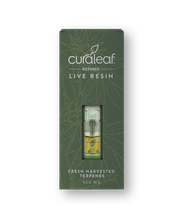 THC Live Resin Vape Cartridge-Blue Widow (Blw)-Hybrid-85%-0.5g at Curaleaf Tampa