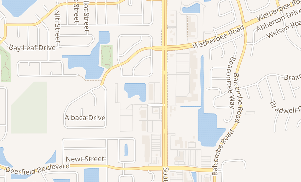 map of 12402 S Orange Blossom TrlOrlando, FL 32837-6539