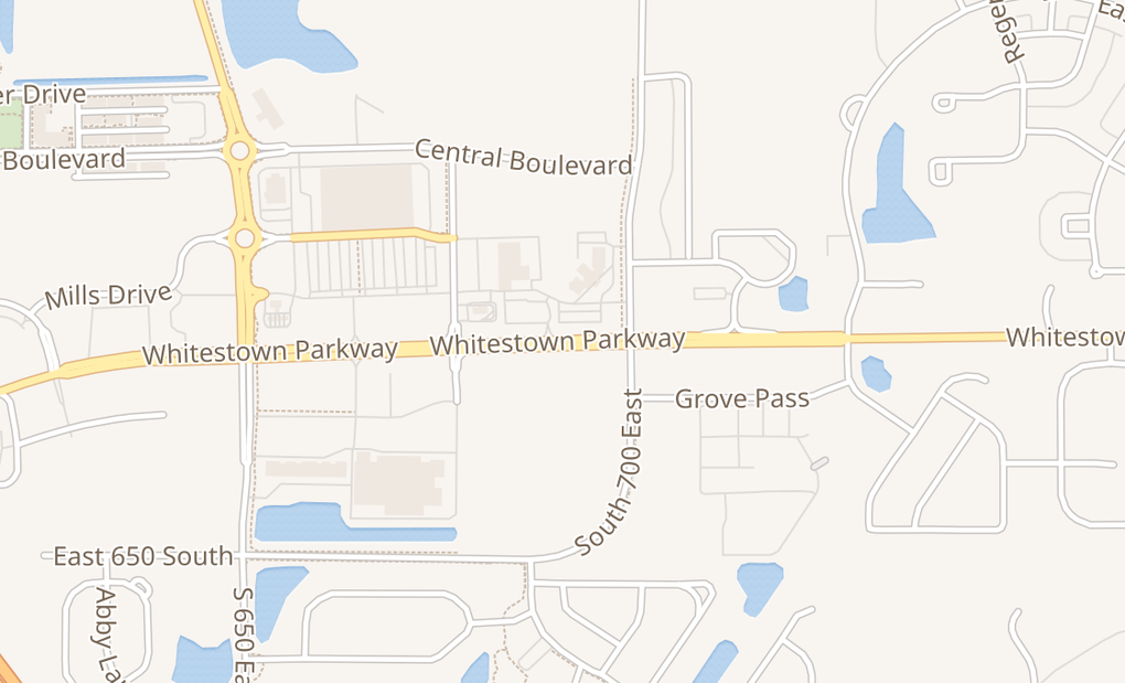 map of 6844 Whitestown PkwyZionsville, IN 46077