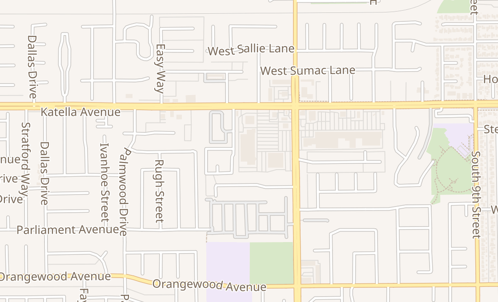 map of 10870 Katella Avenue Ste C2Garden Grove, CA 92804