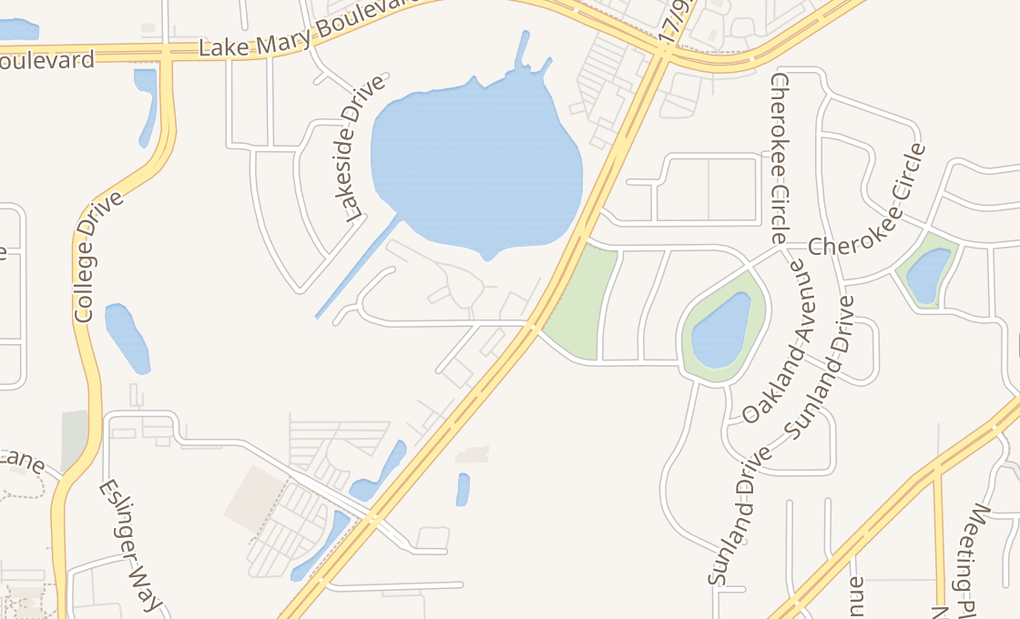 map of 610 Lake Minnie DrSanford, FL 32773-6113