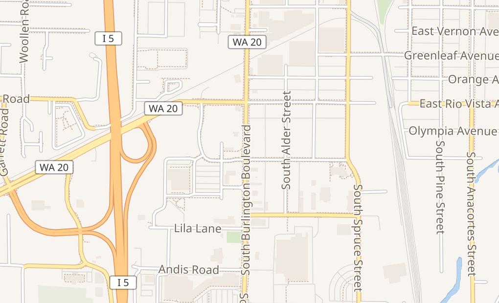 map of 790 S Burlington BlvdBurlington, WA 98233