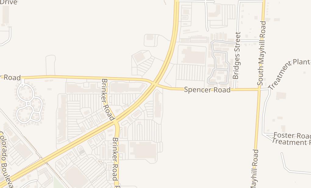 map of 1435 S Loop 288 Ste 107Denton, TX 76205