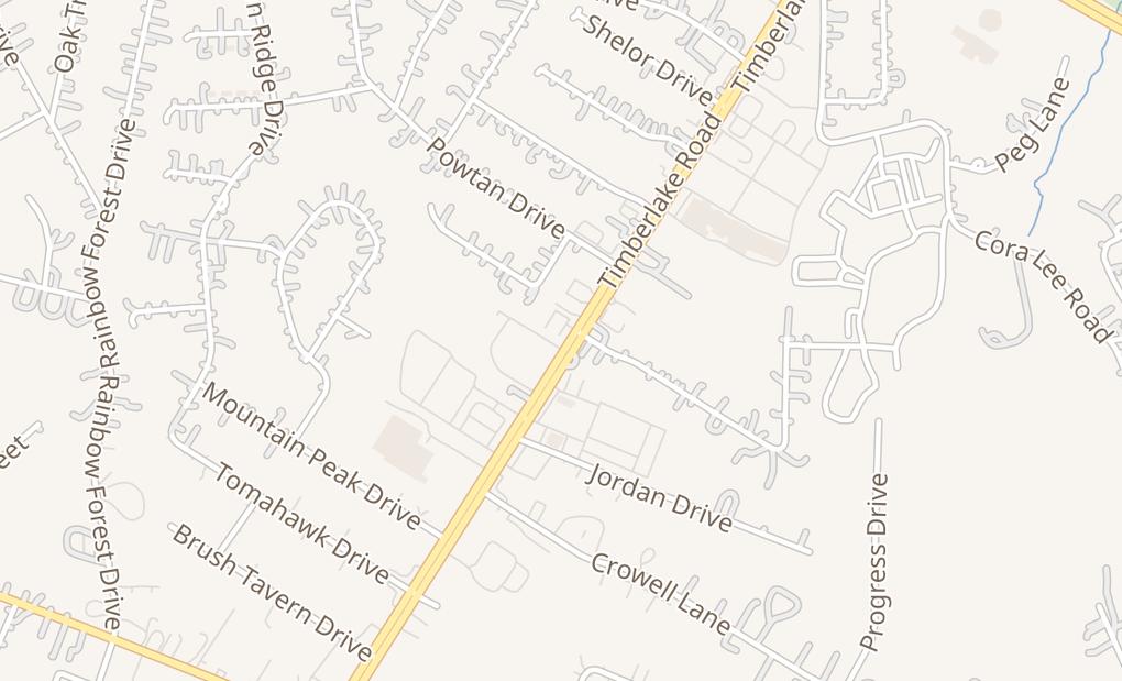 map of 20911 Timberlake Rd Ste CLynchburg, VA 24502