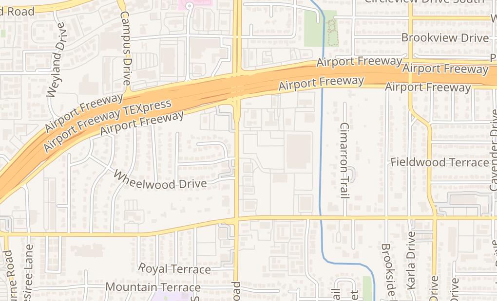 map of 1410 Precinct Line Rd Ste 100Hurst, TX 76053