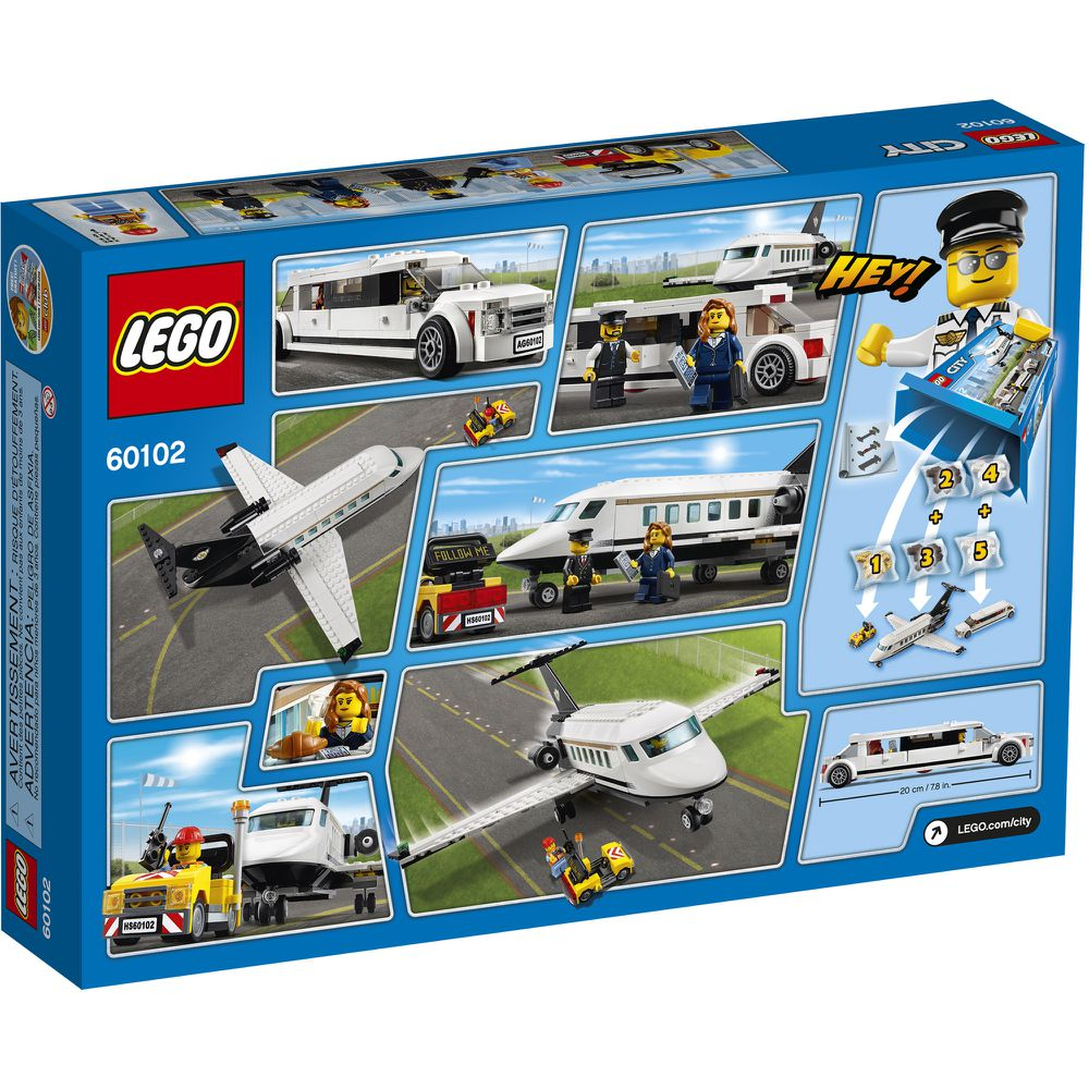 bdf54756532 LEGO City Airport VIP Service #60102 - LEGO - 60102 | In Stock - Cortland