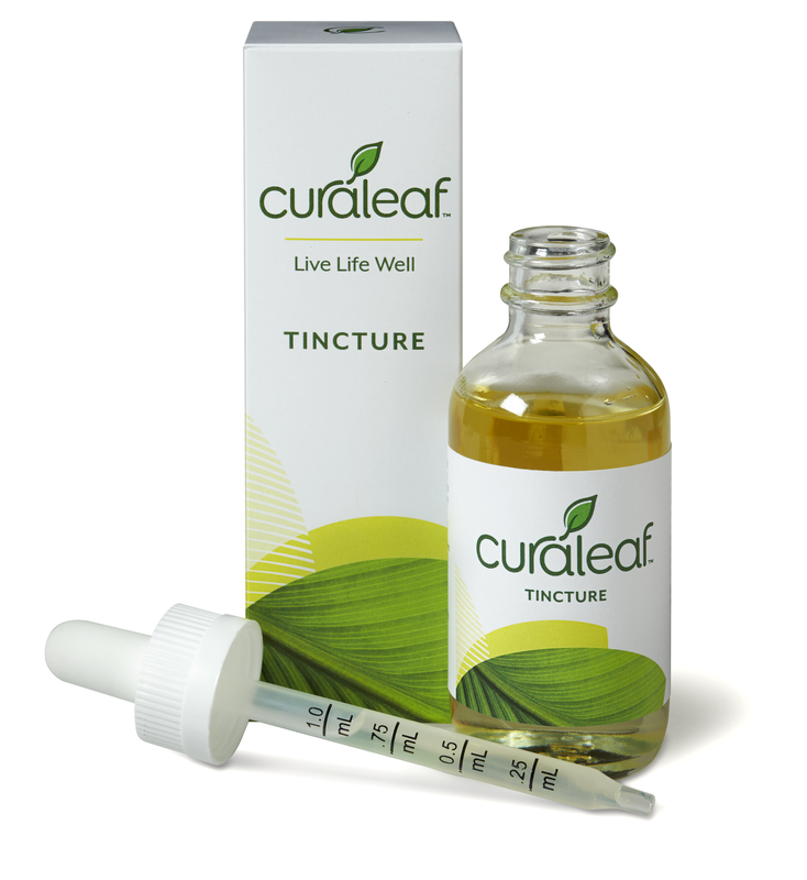 THC Tincture Mango Flavor - Curaleaf