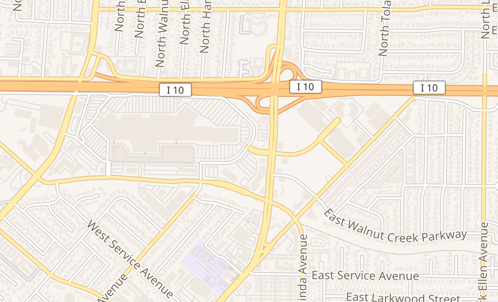 map of 112 Plaza Dr Spc 9032West Covina, CA 91790