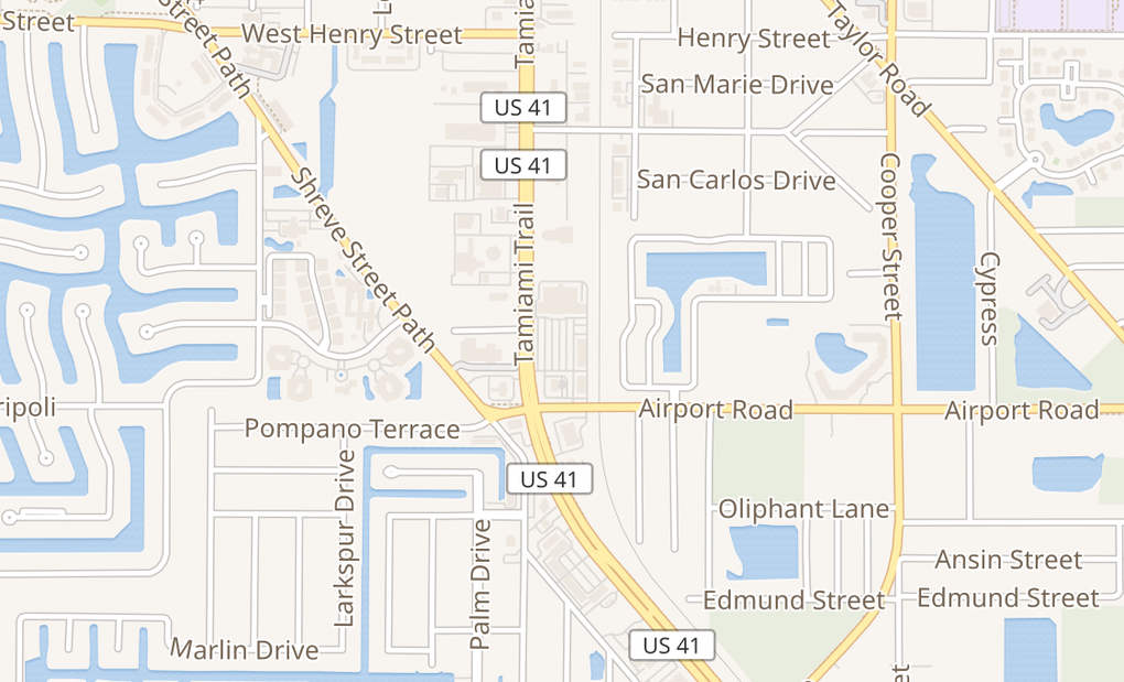map of 2310 Tamiami Trl Unit 1101Punta Gorda, FL 33950