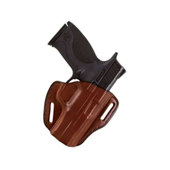 Bianchi P I  Open Top Holster for Colt 1911 and Clones Leather Tan Right  Hand