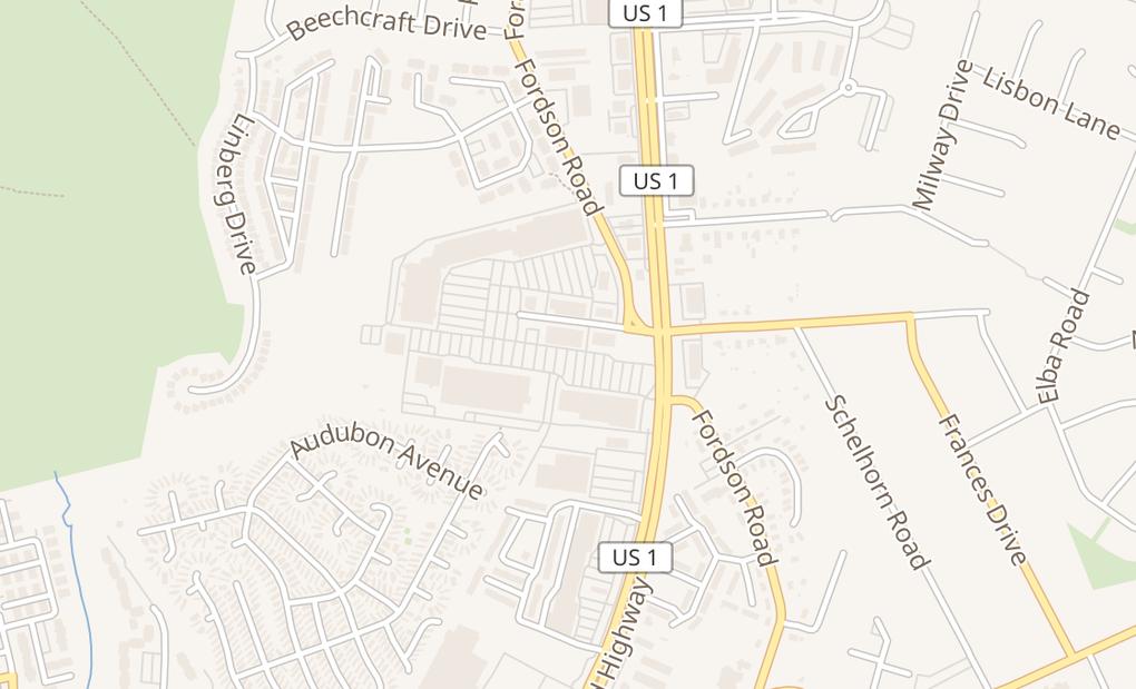 map of 7702B Richmond Hwy Ste EAlexandria, VA 22306