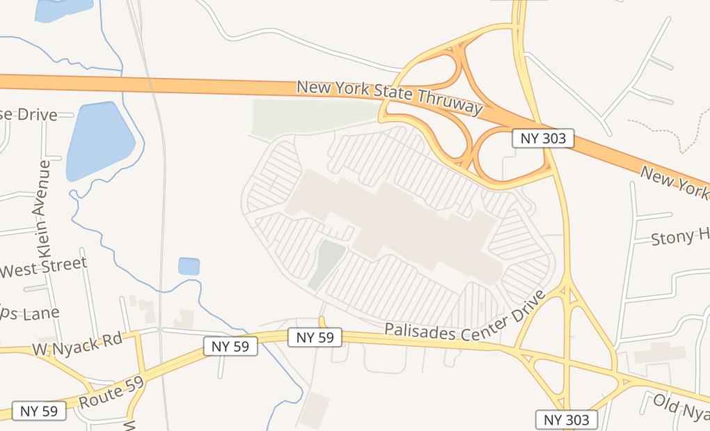 map of 2302 Palisades Center DriveWest Nyack, NY 10994