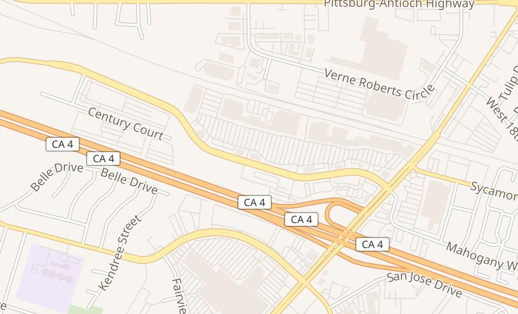 map of 4297 Century BlvdPittsburg, CA 94565