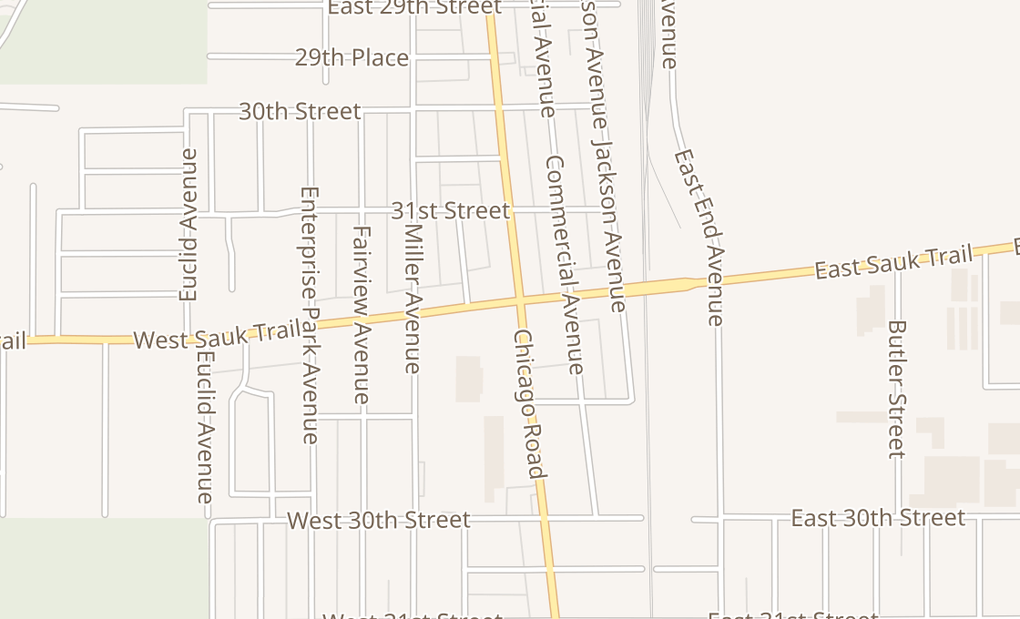map of 3200 Chicago RdSouth Chicago Heights, IL 60411